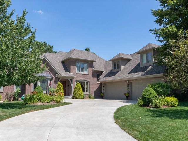 11001 Harbor Bay Drive, Fishers, IN 46040 (MLS #21701600) :: Anthony Robinson & AMR Real Estate Group LLC
