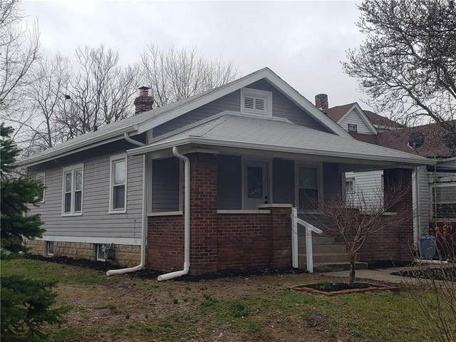 2433 E 16th Street, Indianapolis, IN 46201 (MLS #21701669) :: The Indy Property Source