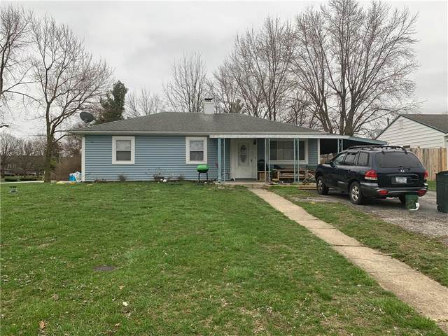 3401 W Perry Street, Indianapolis, IN 46221 (MLS #21701704) :: David Brenton's Team