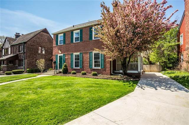 7044 Warwick Road, Indianapolis, IN 46220 (MLS #21701731) :: Anthony Robinson & AMR Real Estate Group LLC