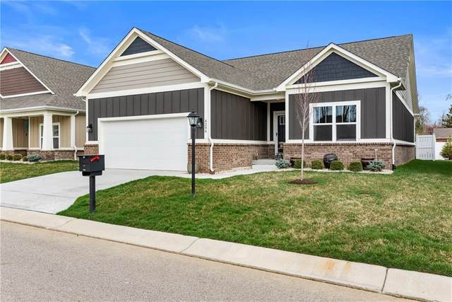 4296 W Hidden Preserve Cove #0, New Palestine, IN 46163 (MLS #21701758) :: The ORR Home Selling Team