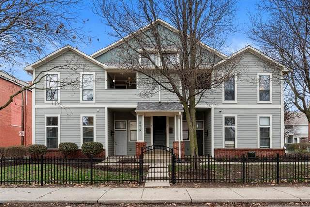 224 E 13th Street B, Indianapolis, IN 46202 (MLS #21701832) :: The ORR Home Selling Team