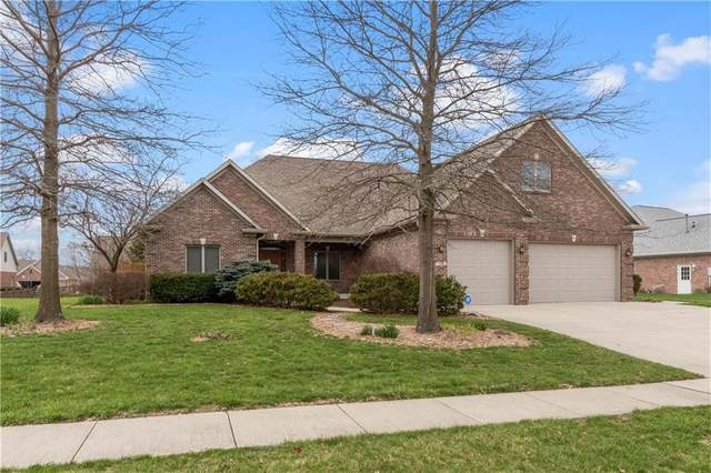 1196 Wood Sage Drive, Avon, IN 46123 (MLS #21701973) :: The Evelo Team