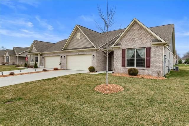 1352 Redstone Drive, Avon, IN 46123 (MLS #21701988) :: David Brenton's Team