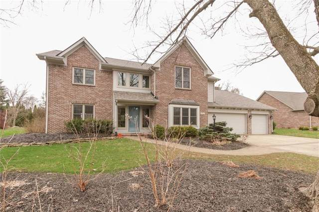 1815 Continental Drive, Zionsville, IN 46077 (MLS #21702010) :: Your Journey Team