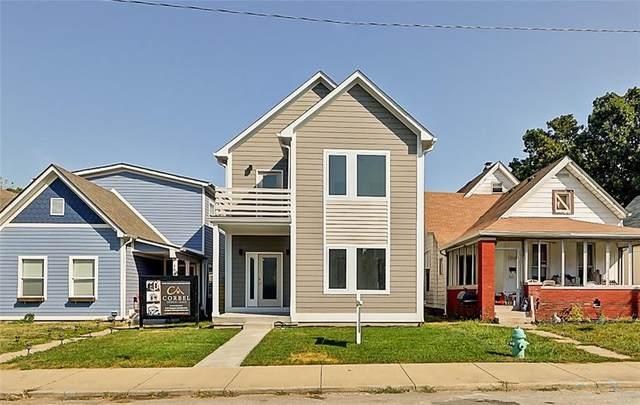 1548 Fletcher Avenue, Indianapolis, IN 46203 (MLS #21702043) :: Heard Real Estate Team | eXp Realty, LLC