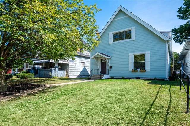 1023 N Tacoma Avenue, Indianapolis, IN 46201 (MLS #21702057) :: AR/haus Group Realty