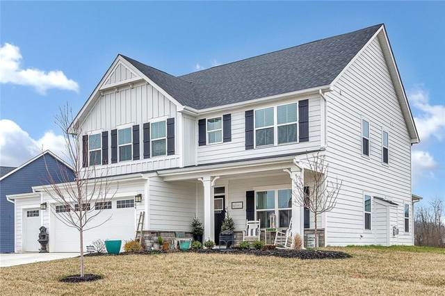 7264 W Beyers Court, New Palestine, IN 46163 (MLS #21702066) :: The Indy Property Source