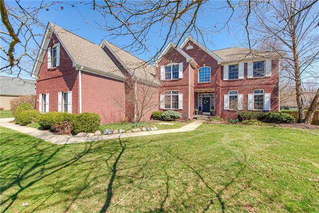 9474 Greenthread Drive, Zionsville, IN 46077 (MLS #21702092) :: Your Journey Team