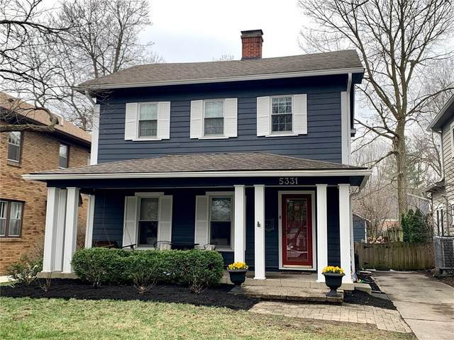 5331 Central Avenue, Indianapolis, IN 46220 (MLS #21702247) :: Richwine Elite Group