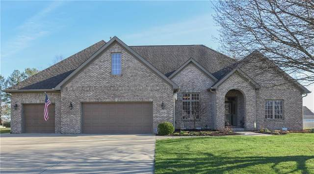 6133 W Richman Lane, New Palestine, IN 46163 (MLS #21702333) :: The Indy Property Source