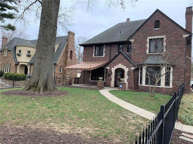 5863 Washington Boulevard, Indianapolis, IN 46220 (MLS #21702399) :: Richwine Elite Group