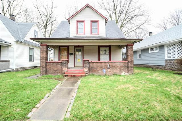 4019 Graceland Avenue, Indianapolis, IN 46208 (MLS #21702420) :: The Indy Property Source