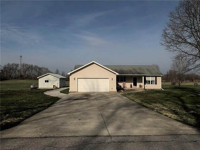 1206 S Glenway Drive, Crawfordsville, IN 47933 (MLS #21702437) :: The ORR Home Selling Team