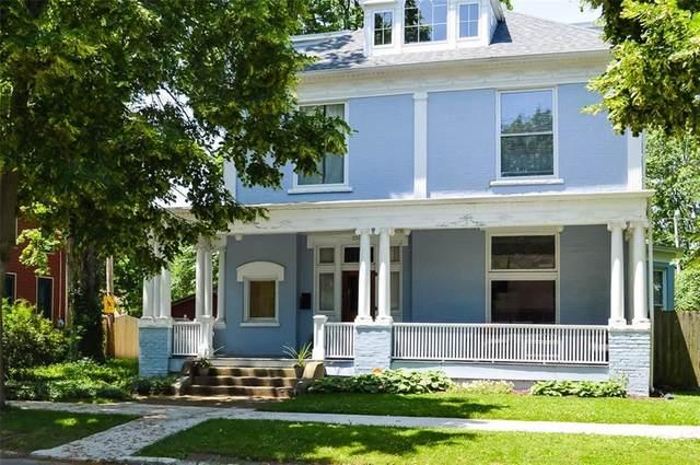 250 N Home Avenue, Franklin, IN 46131 (MLS #21702441) :: David Brenton's Team