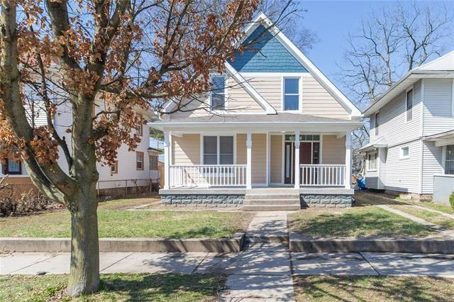 3914 Graceland Avenue, Indianapolis, IN 46208 (MLS #21702449) :: The Indy Property Source