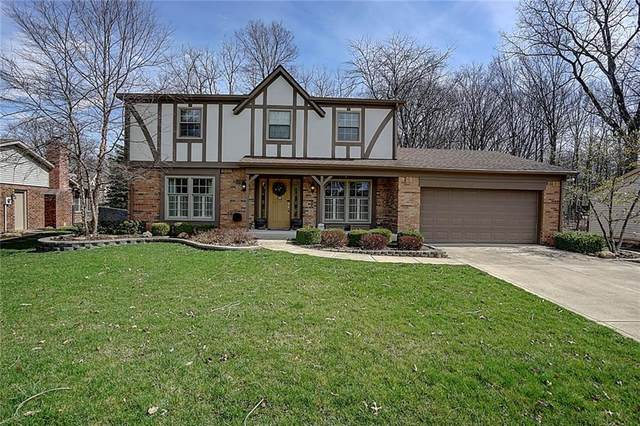 8031 Teel Way, Indianapolis, IN 46256 (MLS #21702462) :: The Indy Property Source