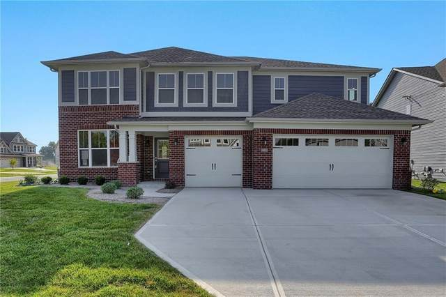 582 Ferndale Lane, Avon, IN 46122 (MLS #21702480) :: The Indy Property Source