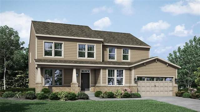3195 Kent Drive, Brownsburg, IN 46112 (MLS #21702490) :: The Indy Property Source