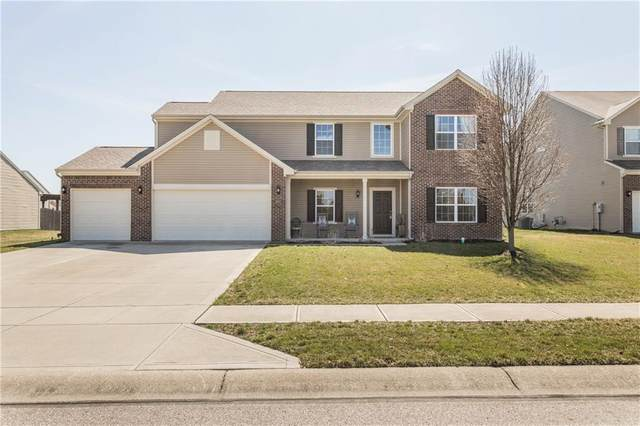 8611 Pattype Lane, Avon, IN 46123 (MLS #21702582) :: The ORR Home Selling Team
