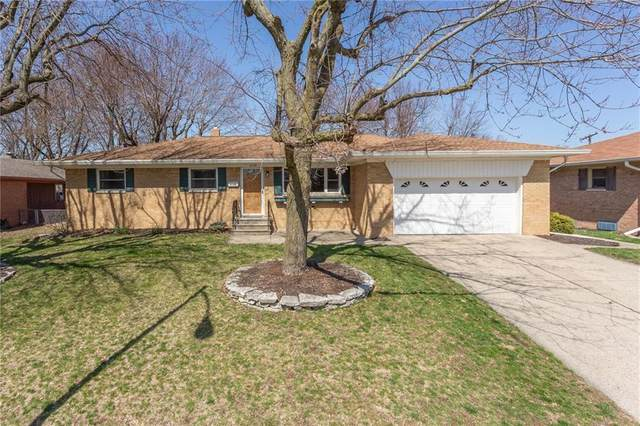 6128 Hickorywood Drive, Speedway, IN 46224 (MLS #21702595) :: Mike Price Realty Team - RE/MAX Centerstone