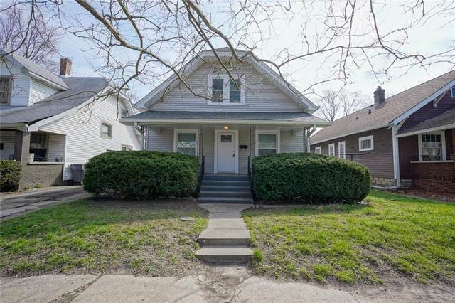 335 N Euclid Avenue, Indianapolis, IN 46201 (MLS #21702623) :: The Indy Property Source