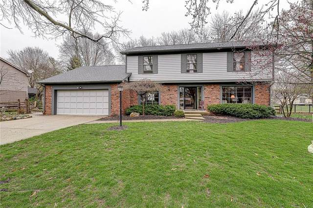 4369 Abbey Drive, Carmel, IN 46033 (MLS #21702663) :: HergGroup Indianapolis