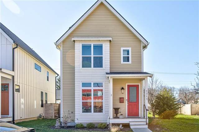 1313 E 11th Street, Indianapolis, IN 46202 (MLS #21702681) :: The Indy Property Source