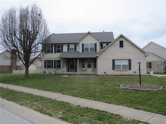 7906 Rock Rose Court, Indianapolis, IN 46237 (MLS #21702696) :: The Indy Property Source