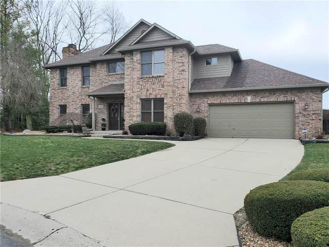 50 Racquet Court, Greenwood, IN 46142 (MLS #21702706) :: The Evelo Team