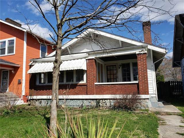 815 N Grant Avenue, Indianapolis, IN 46201 (MLS #21702843) :: AR/haus Group Realty