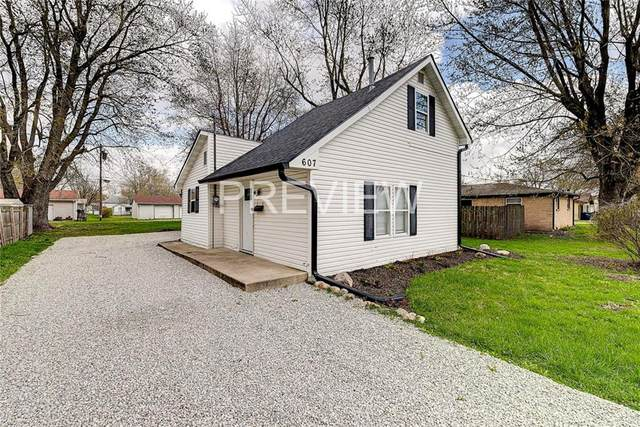 607 S Hamilton Avenue, Sheridan, IN 46069 (MLS #21702859) :: The Indy Property Source