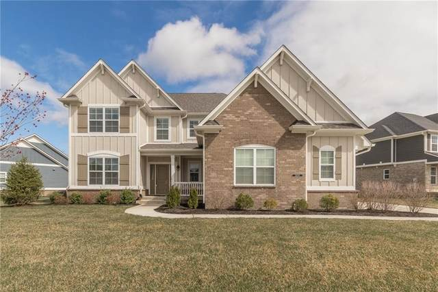 16244 Stonewolf Boulevard, Noblesville, IN 46060 (MLS #21702862) :: Richwine Elite Group