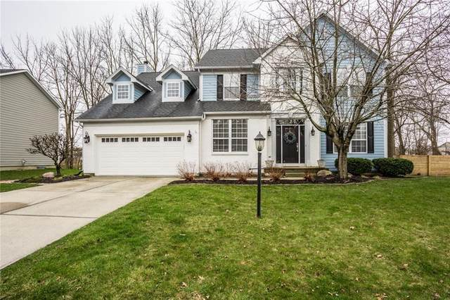 8353 Weaver Woods Place, Fishers, IN 46038 (MLS #21702937) :: HergGroup Indianapolis