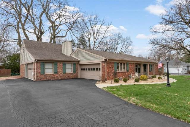 7408 Glenview Drive W, Indianapolis, IN 46250 (MLS #21702938) :: AR/haus Group Realty