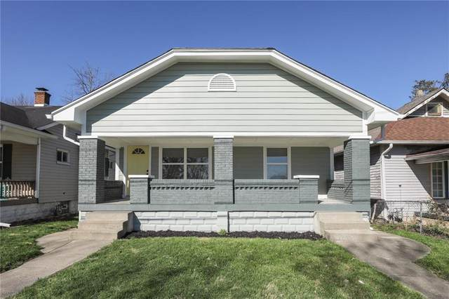 1612 Churchman Avenue, Indianapolis, IN 46203 (MLS #21702956) :: AR/haus Group Realty