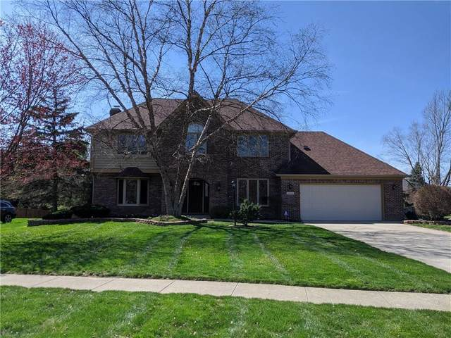13626 Spring Mill Boulevard, Carmel, IN 46032 (MLS #21702964) :: The Evelo Team