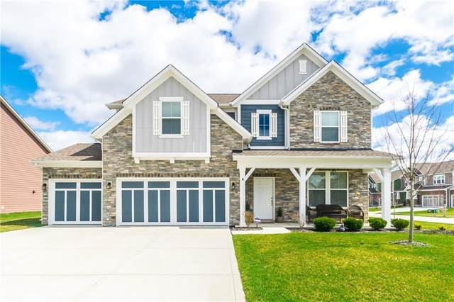 16713 Aerion Court, Westfield, IN 46074 (MLS #21703000) :: The Evelo Team