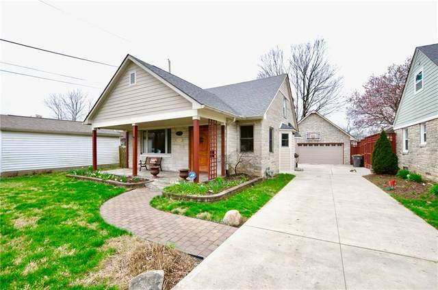 882 N Whittier Place, Indianapolis, IN 46219 (MLS #21703092) :: The ORR Home Selling Team