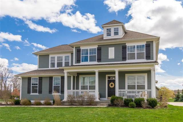 9213 Brookstone Place, Zionsville, IN 46077 (MLS #21703153) :: Mike Price Realty Team - RE/MAX Centerstone