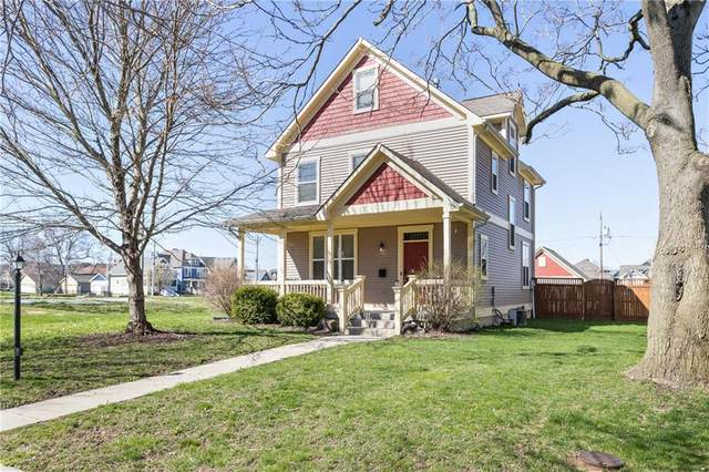 2322 N Park Avenue, Indianapolis, IN 46205 (MLS #21703285) :: The Indy Property Source