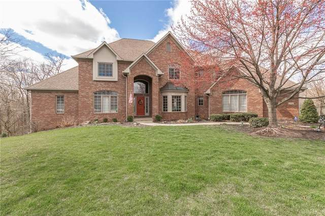10266 Bee Camp Court, Fishers, IN 46055 (MLS #21703336) :: Richwine Elite Group