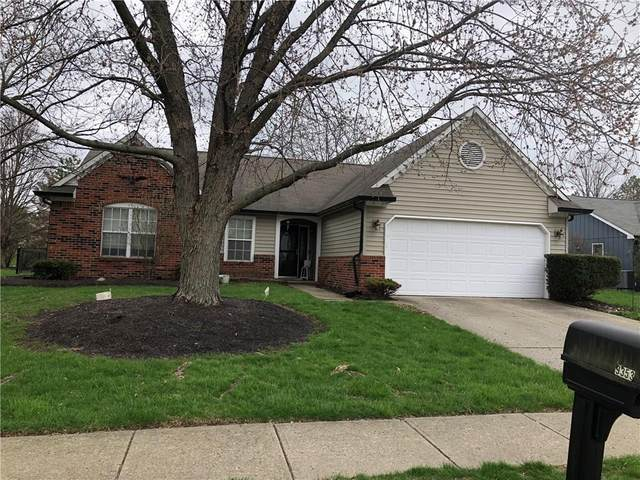 9353 Hadway Drive, Indianapolis, IN 46256 (MLS #21703366) :: The Indy Property Source