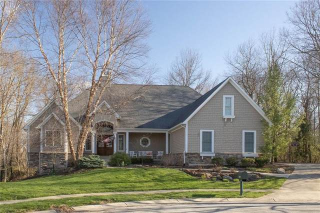 12102 Talon Trace, Fishers, IN 46037 (MLS #21703374) :: Richwine Elite Group