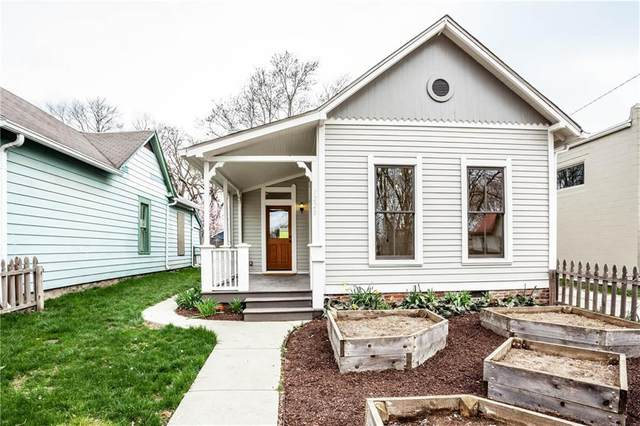 1220 E 9TH Street, Indianapolis, IN 46202 (MLS #21703390) :: The Indy Property Source