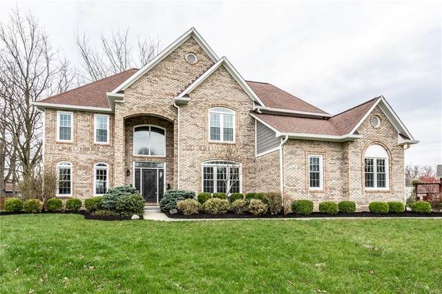 5260 Comanche Trail, Carmel, IN 46033 (MLS #21703476) :: The Evelo Team