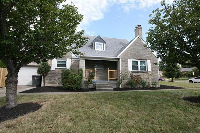 5828 E 10TH Street, Indianapolis, IN 46219 (MLS #21703518) :: David Brenton's Team