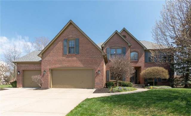 13551 Kingsbury Drive, Carmel, IN 46032 (MLS #21703574) :: The Indy Property Source