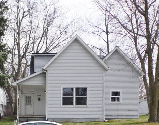 2320 Fletcher Street, Anderson, IN 46016 (MLS #21703587) :: The Evelo Team