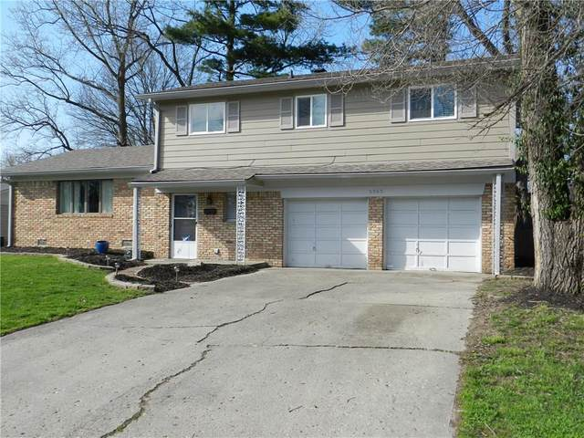 2363 Cleveland Street, Beech Grove, IN 46107 (MLS #21703613) :: The Indy Property Source
